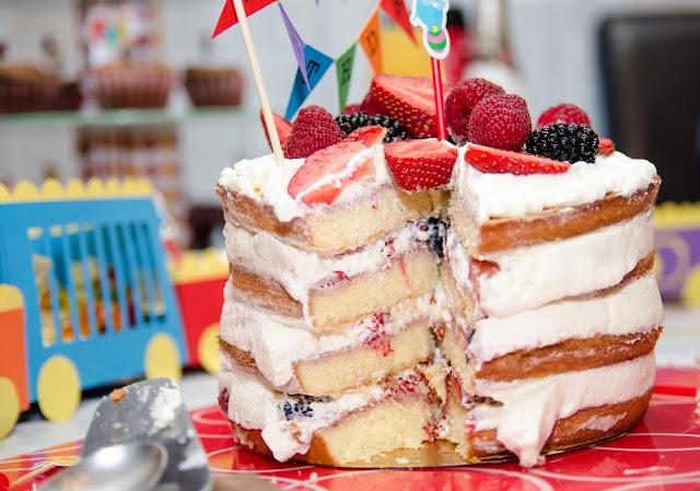 Décoration et gâteau d'anniversaire 2 ans - thème cirque avec les recettes