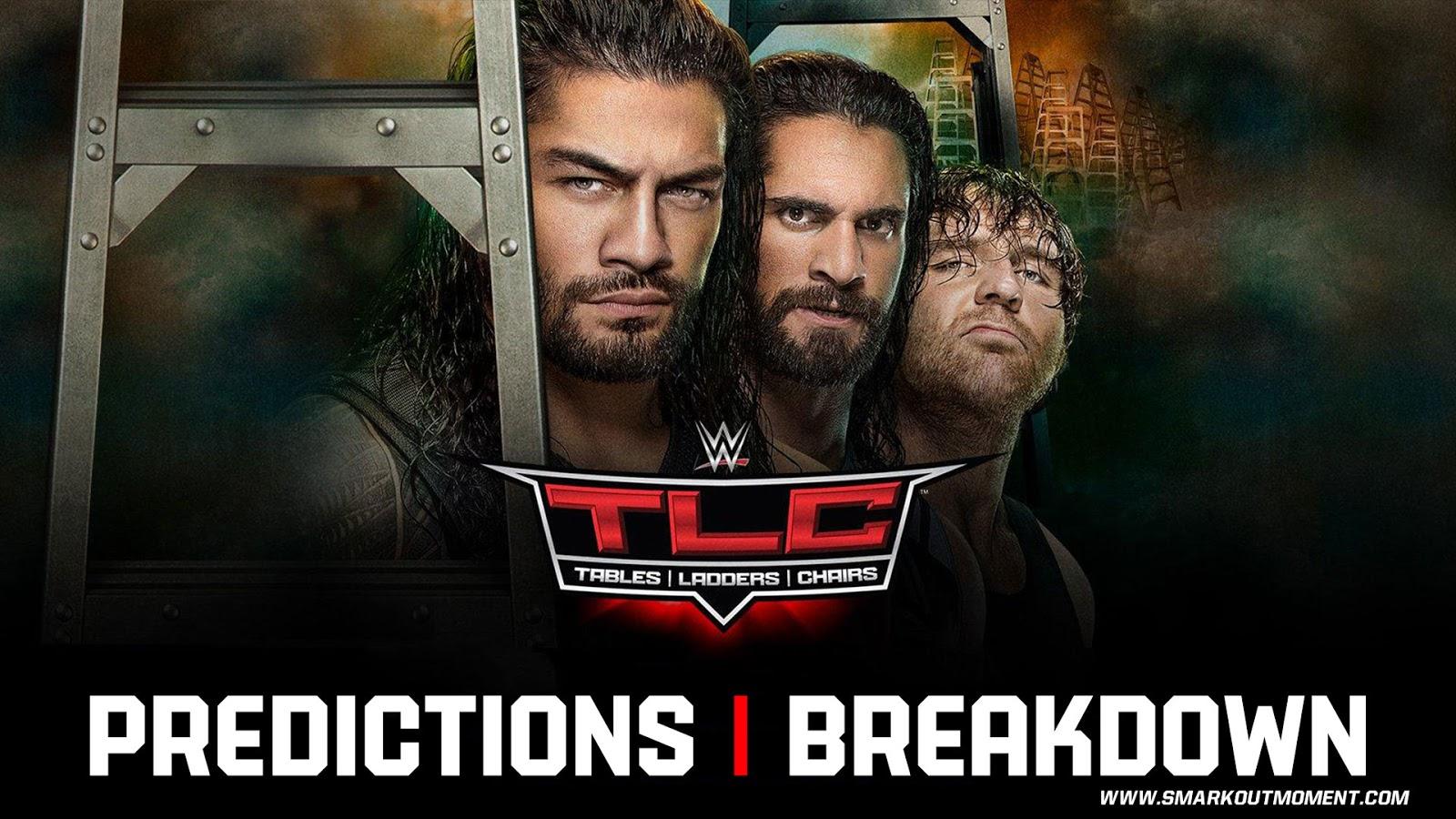 WWE TLC 2017 spoilers podcast