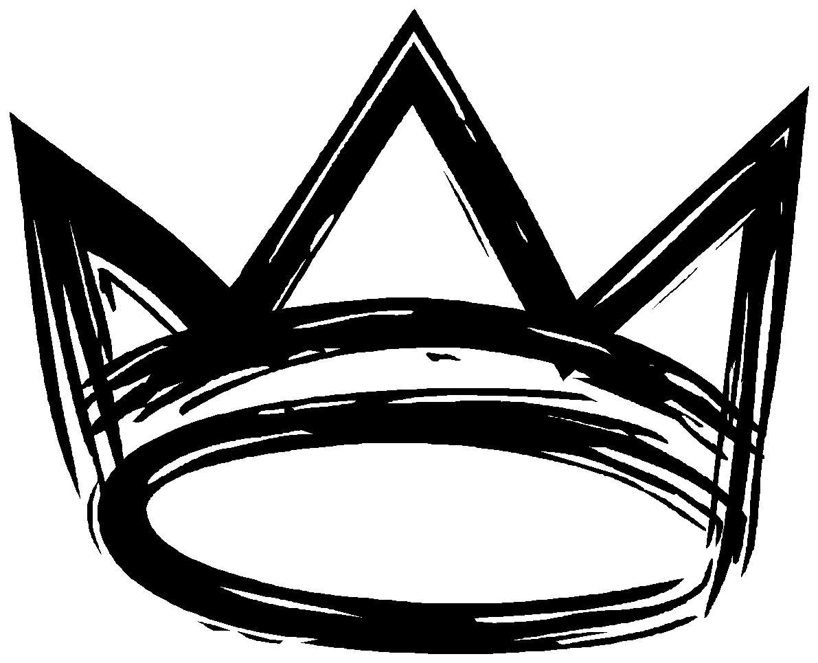 Black And White Crown Interesting Crown Background With Black And