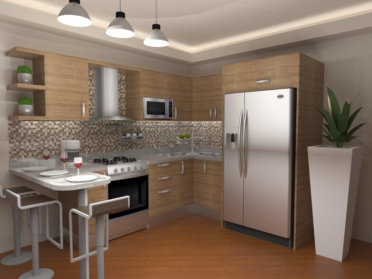 Cocinas de colores para cocinas es el blanco este color - Combinar colores cocina ...