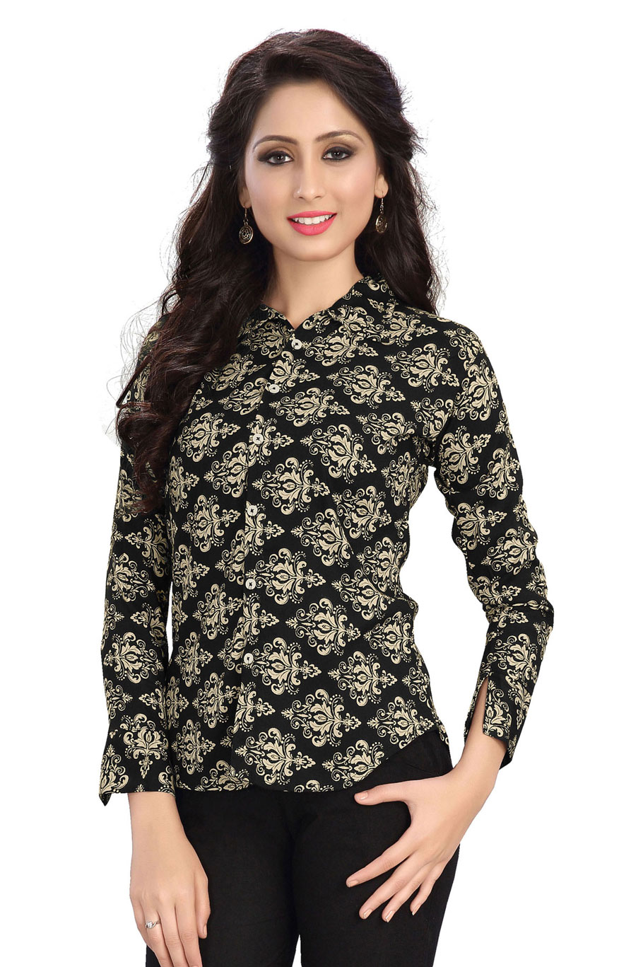 Western Culture 3 – Latest New Rayon Cotton Stylish Top