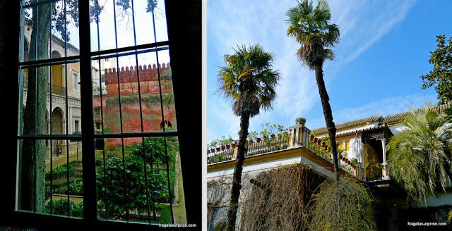 Jardim Italiano e Pavilhão Renascentista na Casa de Pilatos, Sevilha