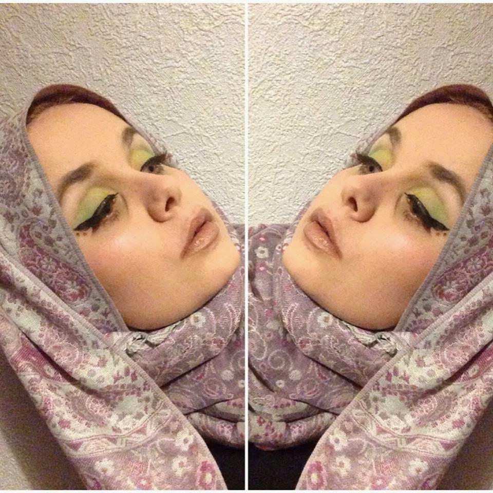 makeup revolution acid brights palette look