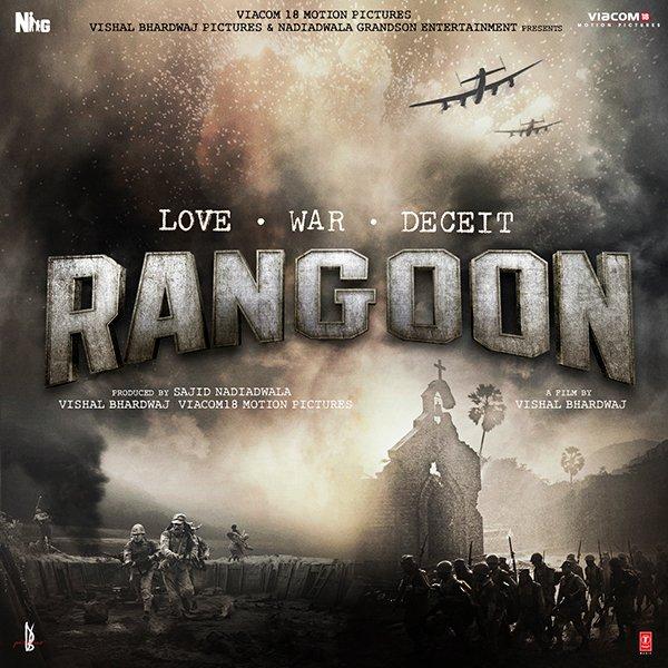 Rangoon, First Look, Poster, Shahid Kapoor, Twitter, Directed by Vishal Bhardwaj