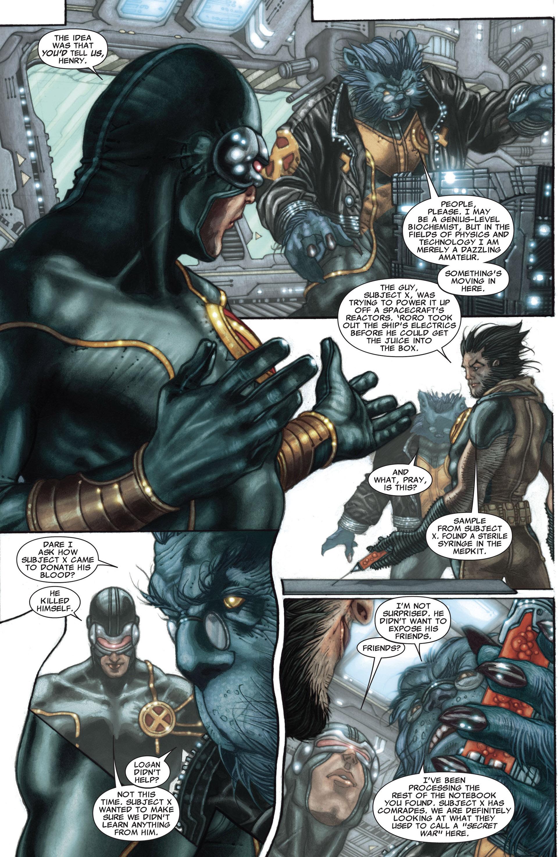 Read online Astonishing X-Men (2004) comic -  Issue #27 - 4