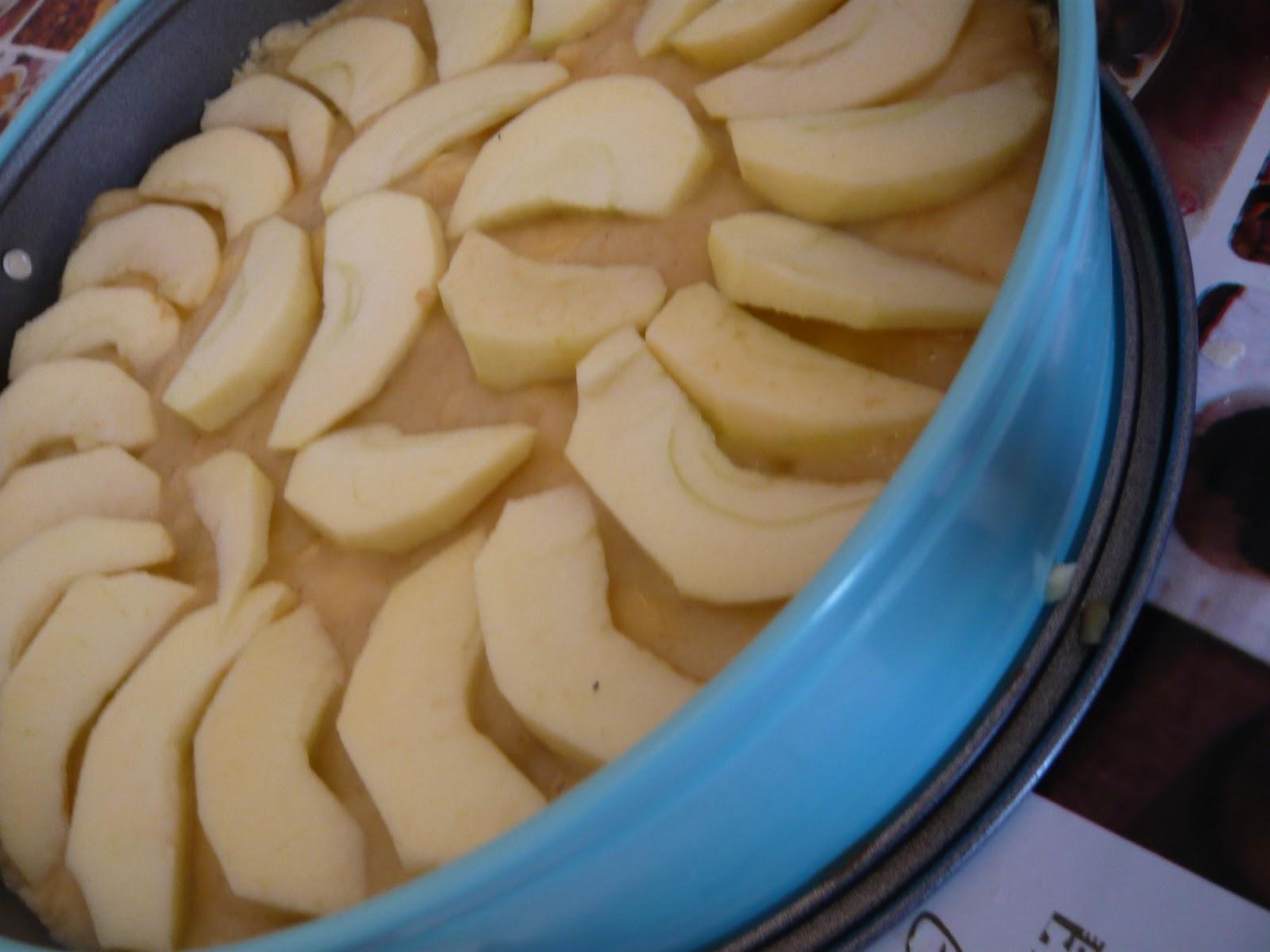 Ein Krumel In Der Kuche Apfelmus Pudding Kuchen
