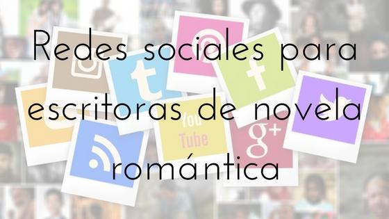 redes sociales para escritoras de novela romántica