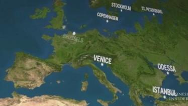 Η εικόνα της Γης αν λιώσουν οι πάγοι σε ένα βίντεο (VIDEO)