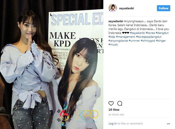 Video: Model Cantik Korea Jadi Penyanyi Dangdut Indonesia Bikin Heboh Netizen