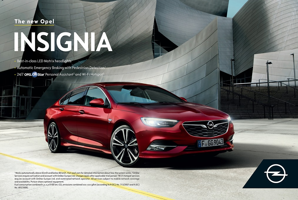 """ΝΕΟ INSIGNIA: """"Το μέλλον ανήκει σε όλους"""" είναι το νέο δόγμα της Opel και αποτυπώνει τις προσδοκίες της εταιρείας"""