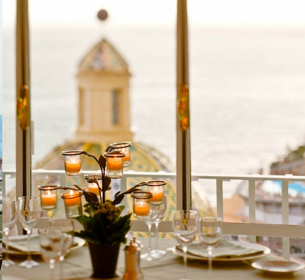 La Sponda restaurant at Positano
