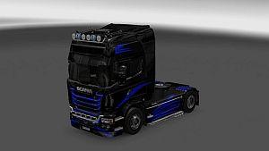 CD paint job for Scania Streamline