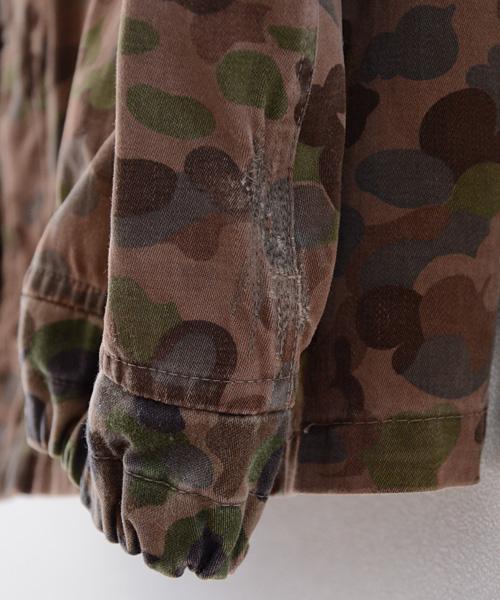 ミリタリー パーカ 60年代 ヴィンテージ オーストリア軍 ショート丈 カモ FUNS