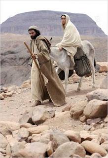 Natividad Camino a Belén