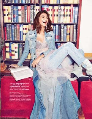 Vaani Kapoor in Vogue Magazine