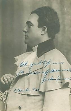FORGOTTEN OPERA SINGERS : Gaetano Tommasini (Tenor ...