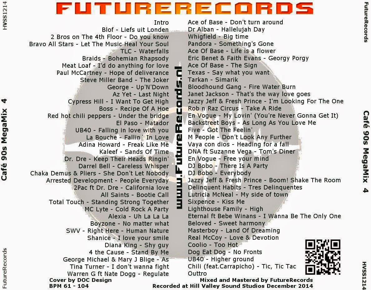 FutureRecords - Cafe 90s Megamix 4 (78:35) ~ THE MIXTAPE WORLD