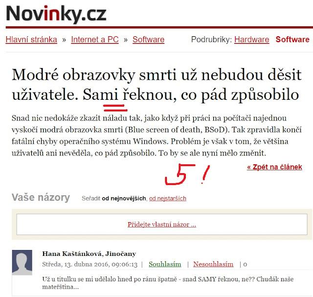 http://www.novinky.cz/internet-a-pc/software/400321-modre-obrazovky-smrti-uz-nebudou-desit-uzivatele-sami-reknou-co-pad-zpusobilo.html