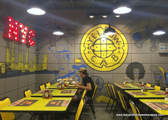 Yellow Cab in Karama