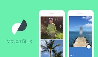 تطبيق motion stills لتحويل الفيديوهات الى صور متحركه اخر اصدار 2018