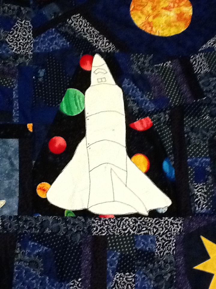 space shuttle quilt pattern - photo #11