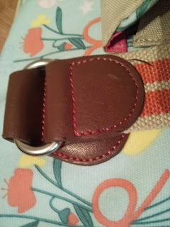 beautiful leather stitiching