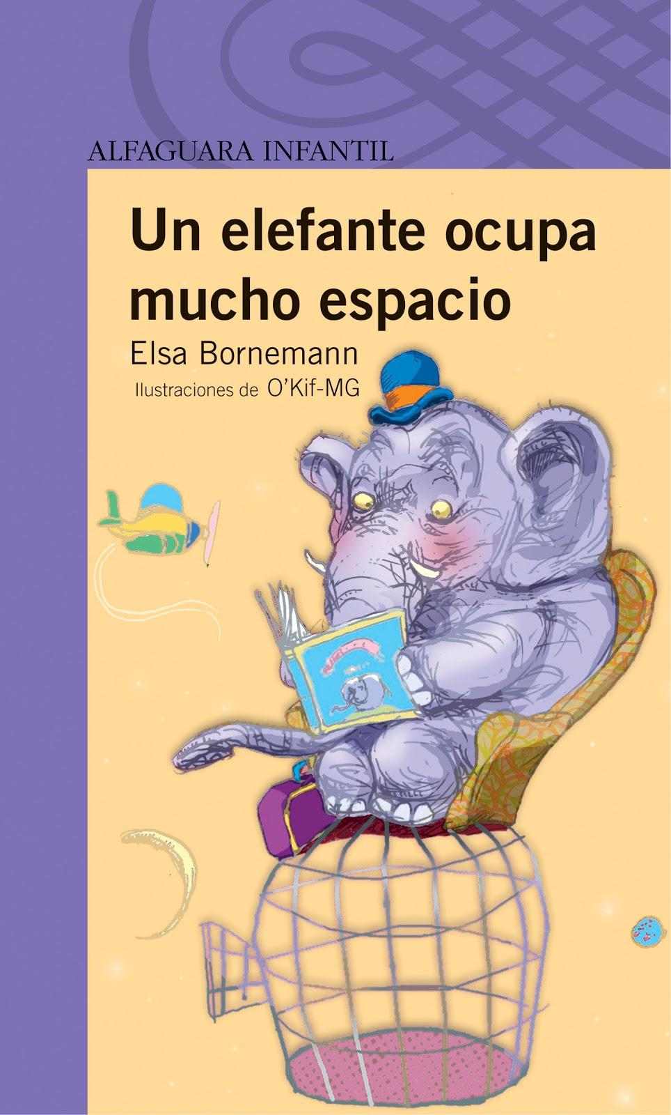 Blog de los ni os un elefante ocupa mucho espacio - Libro da colorare elefante libro ...