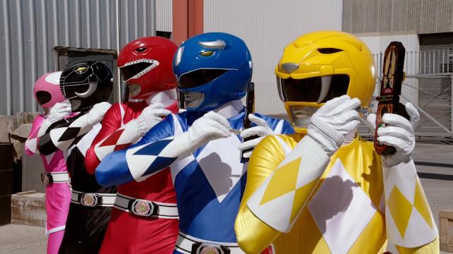Power Rangers 25 Anos