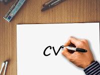 Cara Membuat CV Atau Curriculum Vitae