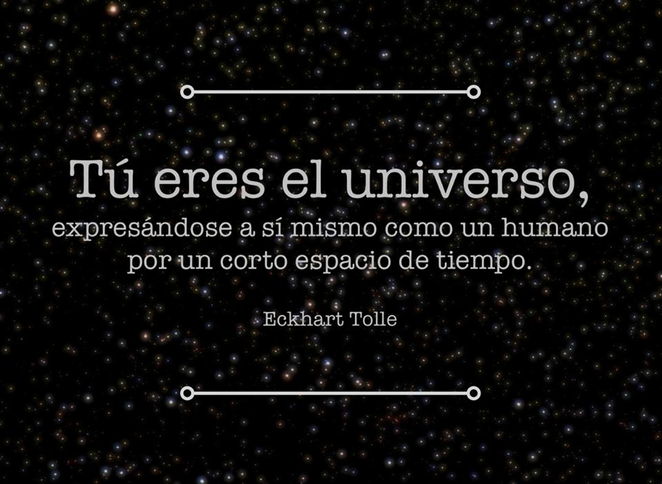 Frases Con Imágenes Tu Eres El Universo Expresándose A Si
