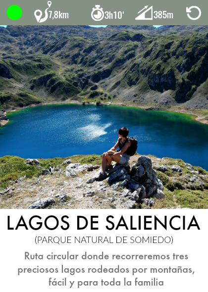 ruta lagos de saliencia somiedo asturias