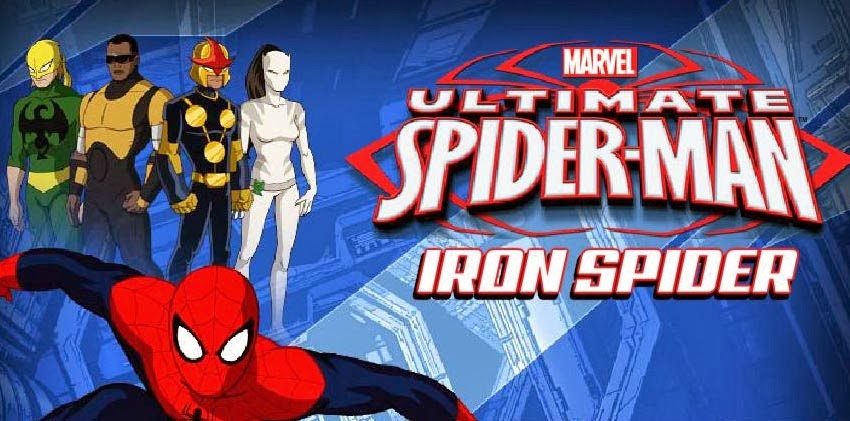 Ultimate Spiderman Iron Spider Game Play Free Online