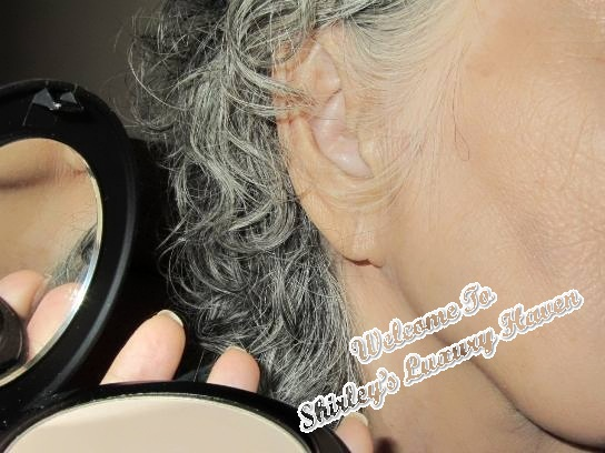vitacost larenim mineral silk pressed powder review
