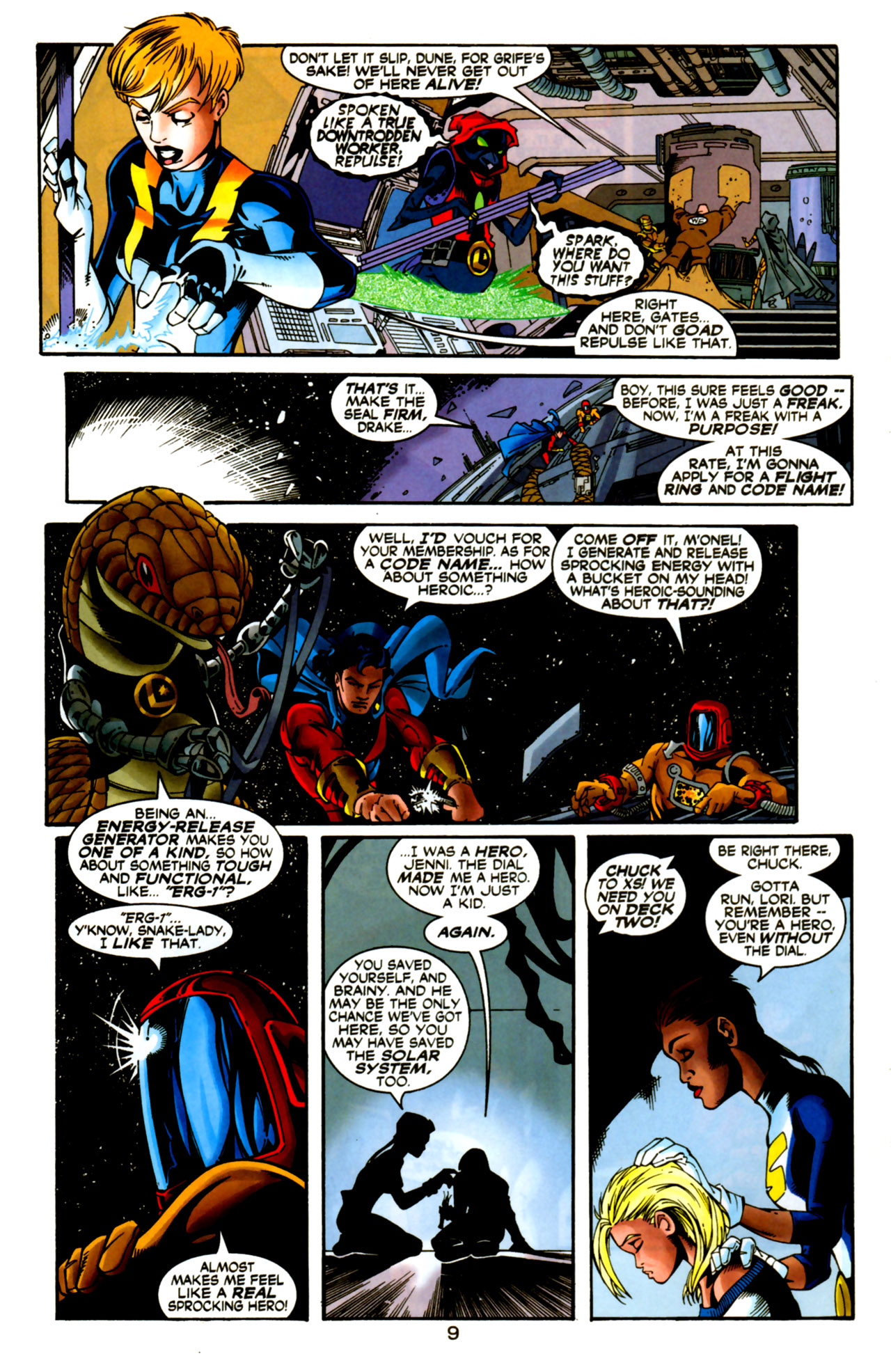 Legion of Super-Heroes (1989) 125 Page 9