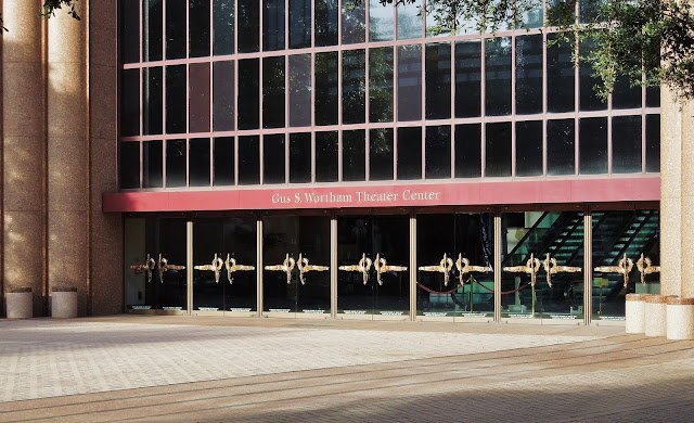 Gus S. Wortham Theater Center - Entrance on Plaza