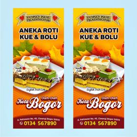 Desain Banner Makanan Unik - desain banner kekinian