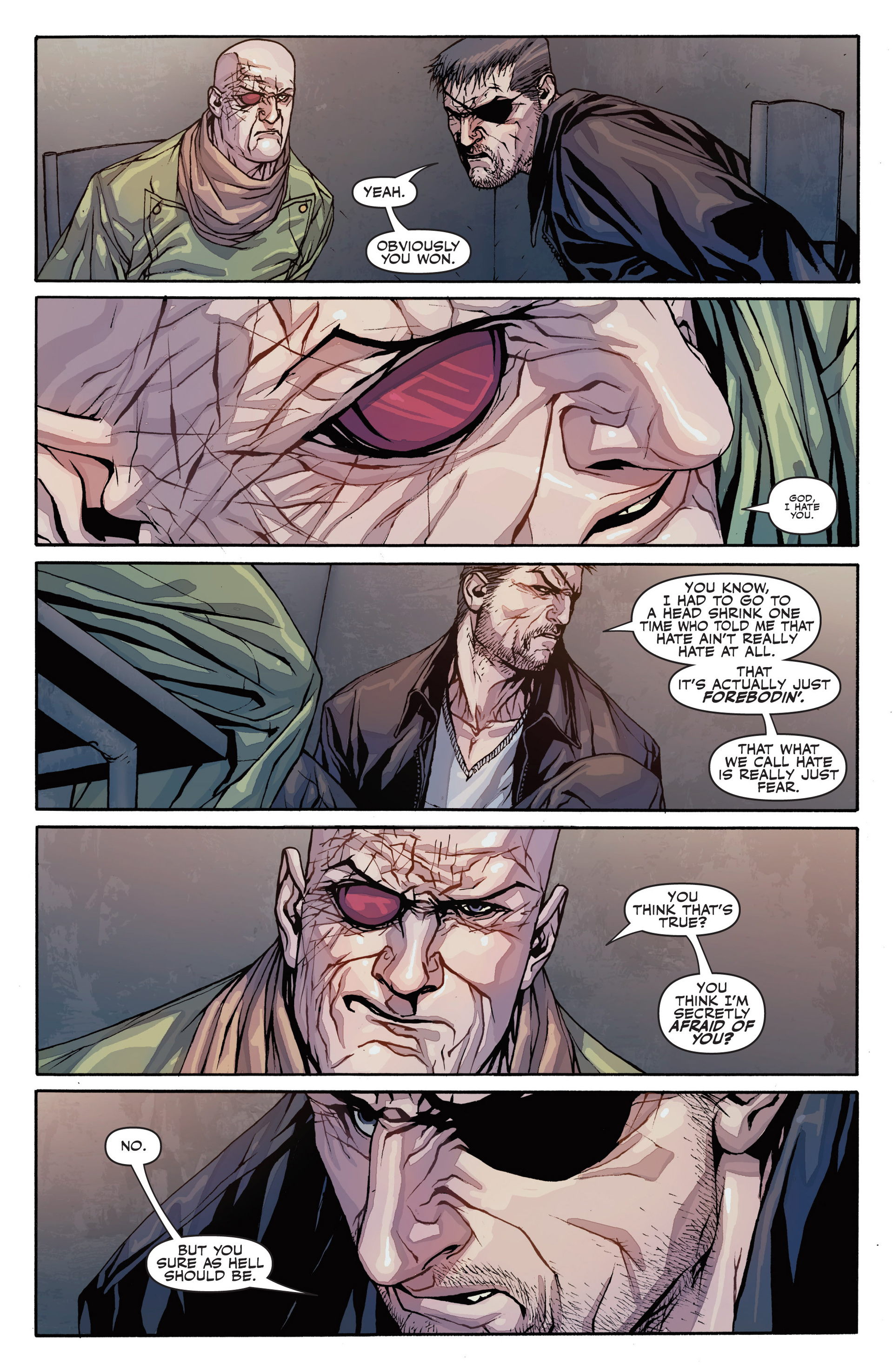 Read online Secret Warriors comic -  Issue #26 - 9