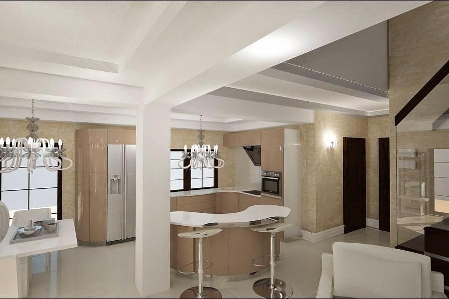 design interior bucatarie vila