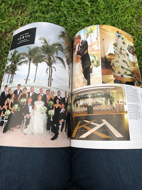 Naples florida wedding featured in The Knot