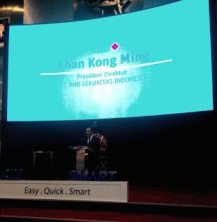 Chan Kong Ming, Presdir PtT RHB Sekuritas Indonesia