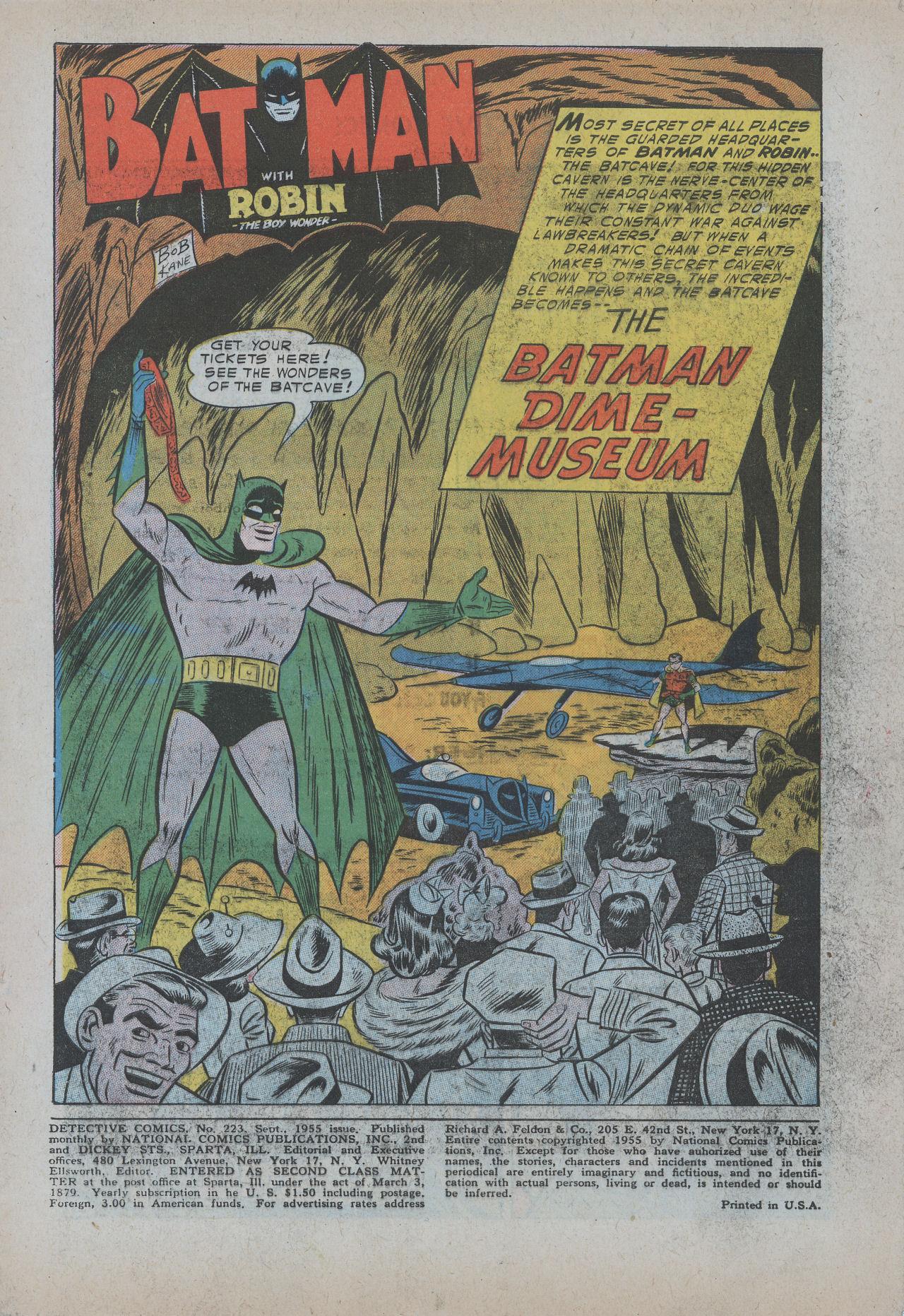 Detective Comics (1937) 223 Page 3
