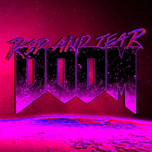 DOOM Rip and Tear Wallpaper Engine | Download Wallpaper