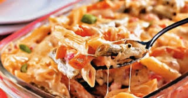 Macarrão Sabor Pizza (Imagem: Reprodução/Internet)