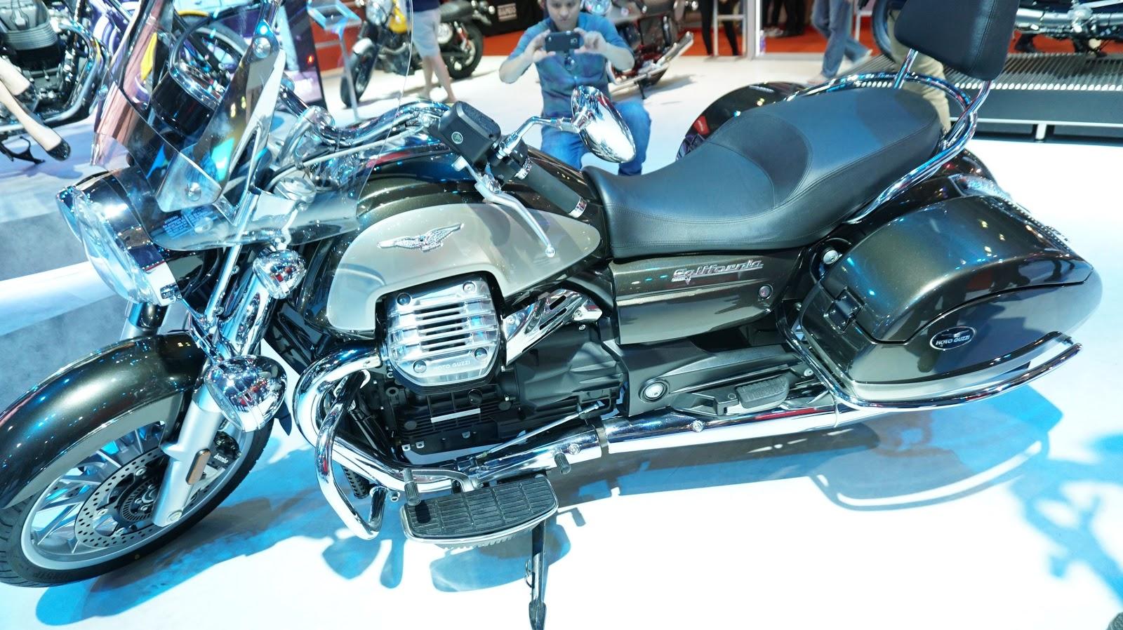 Có lúc nào...CSGT Việt Nam được trang bị Moto Guzzi California Touring SE?