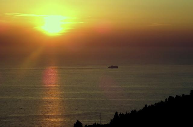 Sunset Athani Lefkada