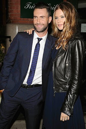 Adam Levine apologized ex-girlfriends before the wedding with Behati Prinsloo
