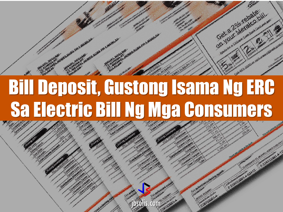 "The energy Regulatory Commission (ERC) wanted that the bill deposit amount will be included in the consumers electric bill including interests from previews years.  All electricity consumers must pay the deposit equivalent to the average monthly electricity consumption which is called  the ""bill deposit"". In the case of  Meralco, because the consumers deposit gain interests over the years, it is being updated every year in order to refund the excess payment or collect additional deposit should the customer consumption increase. But the ERC wants that the interest of the bill deposit be ""compounded"". For example, if the deposit will be P1,000 and the interest is 1%, it has to be P1,010 in the first year and P1,020 for the succeeding year due to interest. The ERC also requires that the bill would reflect the exact bill deposit of every consumer. The bill deposit of consumers who religiously pay their bill on time for the period of 3 consecutive years could also be refunded. Sponsored Links  Atty. Rexie Baldo-Digal, ERC spokesperson said that they require that the bill deposit summary must be submitted within 60 days. Meralco said, through their spokesperson Joe Zaldarriaga, that they will comply and follow the final rules The ERC also wanted to find out if the cooperatives has secured records of consumer deposits and how much are the interests earned from it. The ERC will wait for the statement from the stake holders including consumers, various groups and cooperatives until October 31 before the new rule will be finally released. Source: ABS-CBN The energy Regulatory Commission (ERC) wanted that the bill deposit amount will be included in the consumers electric bill including interests from previews years.  All electricity consumers must pay the deposit equivalent to the average monthly electricity consumption which is called  the ""bill deposit"". In the case of  Meralco, because the consumers deposit gain interests over the years, it is being updated every year in order to refund the excess payment or collect additional deposit should the customer consumption increase. But the ERC wants that the interest of the bill deposit be ""compounded"". For example, if the deposit will be P1,000 and the interest is 1%, it has to be P1,010 in the first year and P1,020 for the succeeding year due to interest. The ERC also requires that the bill would reflect the exact bill deposit of every consumer. The bill deposit of consumers who religiously pay their bill on time for the period of 3 consecutive years could also be refunded. Sponsored Links  Atty. Rexie Baldo-Digal, ERC spokesperson said that they require that the bill deposit summary must be submitted within 60 days. Meralco said, through their spokesperson Joe Zaldarriaga, that they will comply and follow the final rules The ERC also wanted to find out if the cooperatives has secured records of consumer deposits and how much are the interests earned from it. The ERC will wait for the statement from the stake holders including consumers, various groups and cooperatives until October 31 before the new rule will be finally released. Source: ABS-CBN   Advertisement Read more:        ©2017 THOUGHTSKOTO  Advertisement Read more:        ©2017 THOUGHTSKOTO"