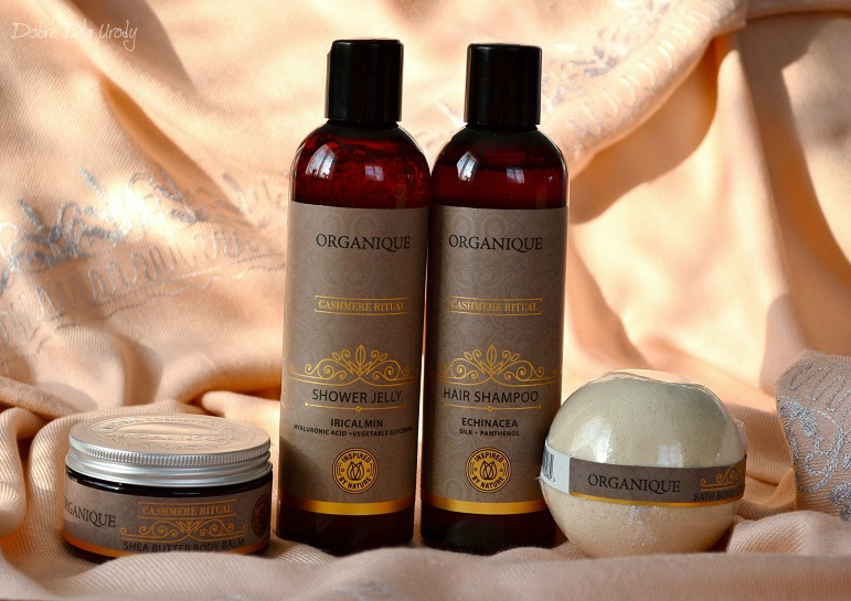 Organique Rytuał Kaszmirowy - kosmetyki słodkim karmelem pachnące!