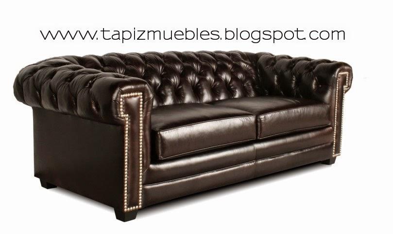 Tapizado de muebles sof s chesterfield tapizado retapizado - Artesanos del sofa ...