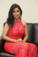 Sakshi Kakkar in Red Legsplit Sleeveless Gown at Dare movie Press meet ~  Exclusive 068.JPG